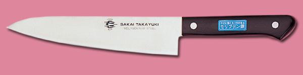 モリブテン鋼 文化包丁 (サビにくい) 牛刀型 1.jpg