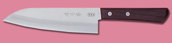 三徳型文化包丁 ローズ型 (サビにくい) 1.jpg